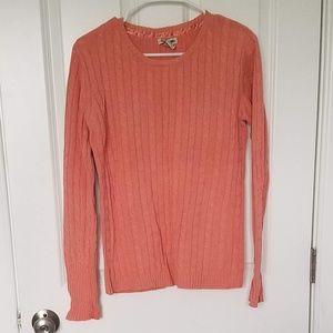 COPY - Very Cozy Peach color sweater XL.